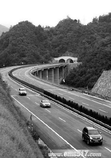 連接川陝的高速公路