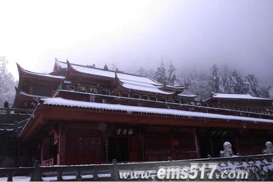 峨眉山寺庙