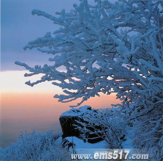 峨眉山之雪