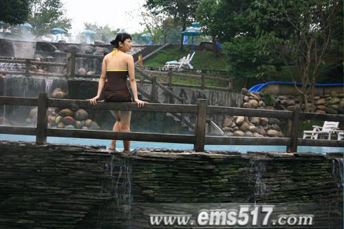 峨眉山氡水温泉