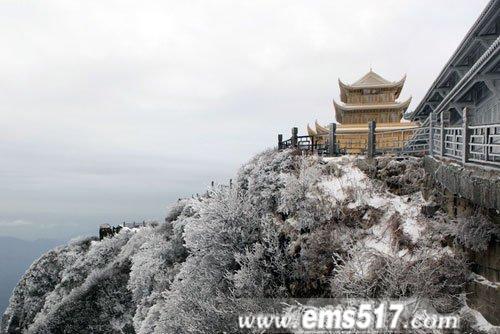 峨眉山春雪