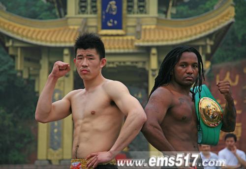 参加洲际拳王争霸赛的各国拳手