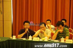 七里坪代表李先生发言