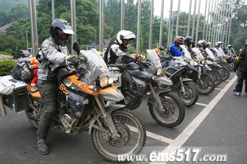 宝马机车国际骑游队整装待发