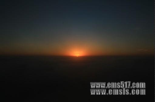 峨眉山:日出