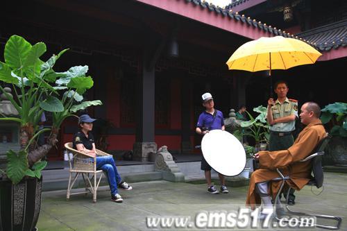 专访中国佛教协会副会长,峨眉山佛教协会会长释永寿大和尚。