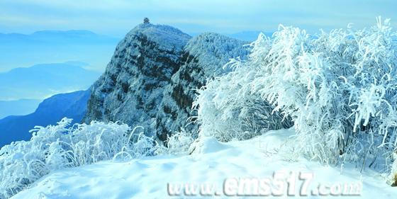 隆冬时节,玩high峨眉山冰雪温泉盛宴