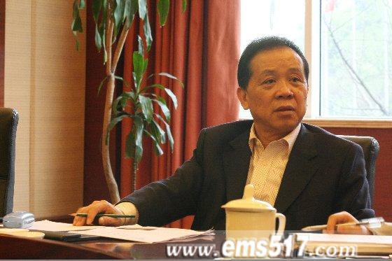 马元祝董事长接受记者采访
