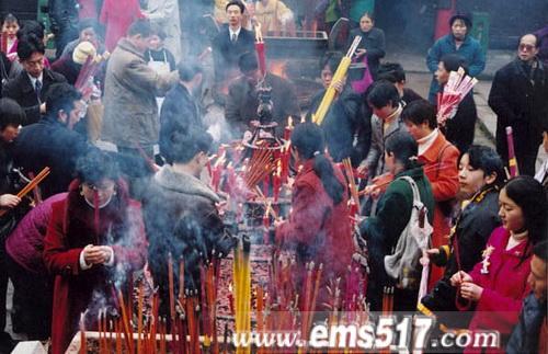 春节游峨眉