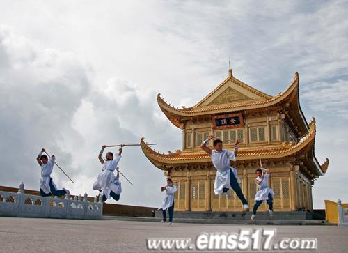 中国四川国际峨眉武术节金顶论剑
