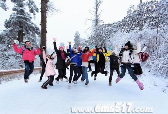 峨眉山冰雪温泉冬游乐园