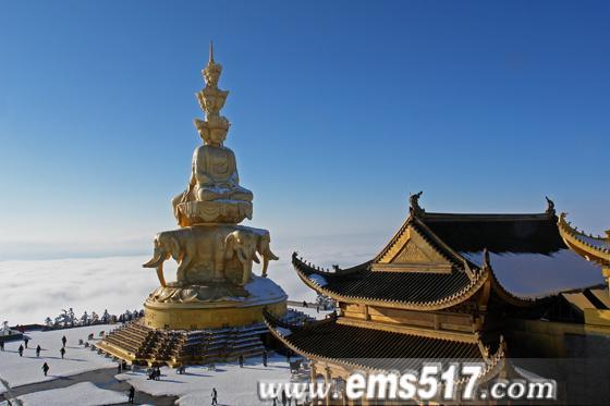 龙年春节峨眉山冰雪温泉节