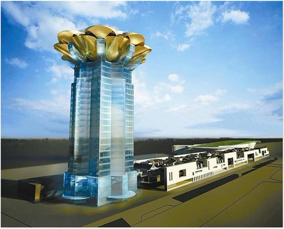 峨眉山乐山大佛旅游集团十大项目之峨眉雪芽特色产业园区(效果图)