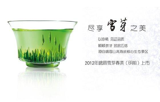 2012峨眉雪芽春茶上市