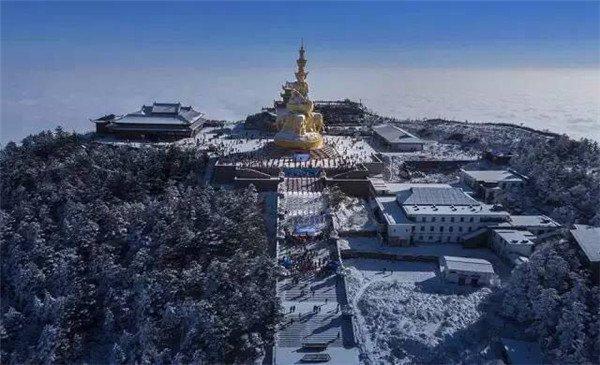 2015年12月20日,在峨眉山风景区成功申报世界双遗产20周年