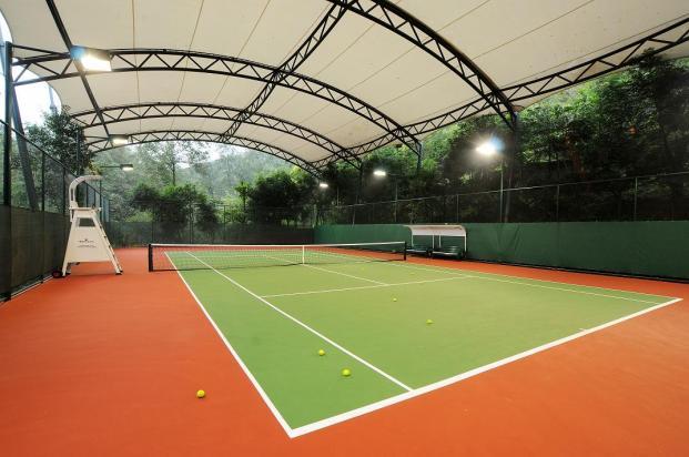 网球场地_网球场地_网球场地供货商_供应石家庄硅PU网